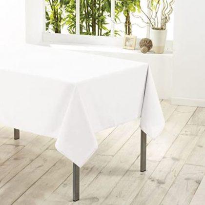 mantel blanco comedor