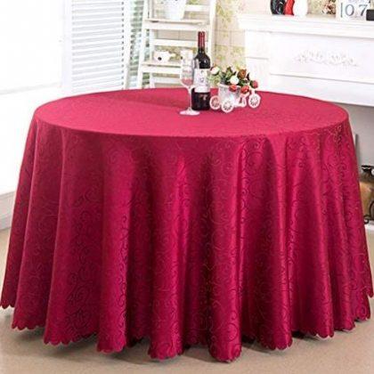 mantel hostelería rojo