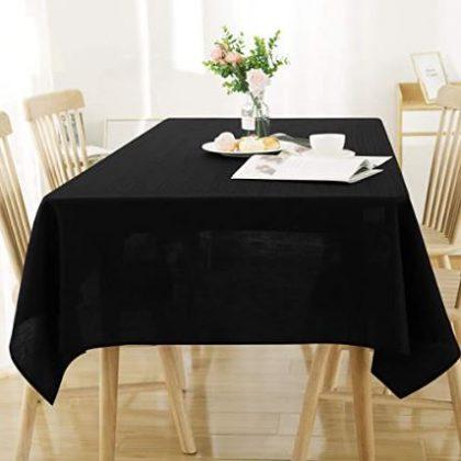 mantel negro comedor