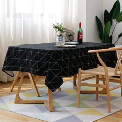 mantel negro moderno